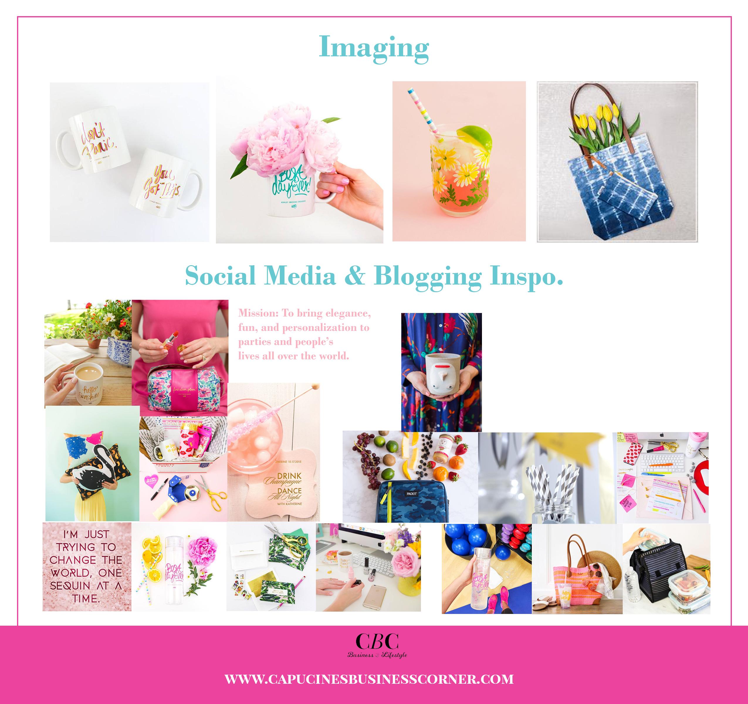 Branding board Capucines-Business-Corner imagery